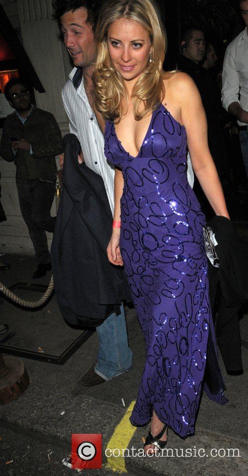 Holly Branson Leaving Mahiki Club 1