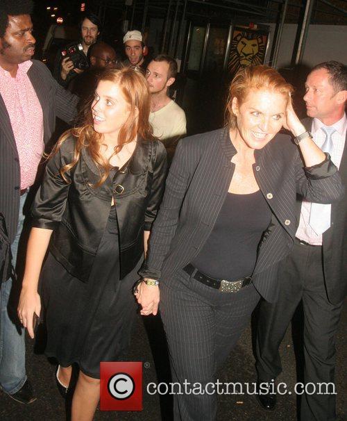 Princess Beatrice and Sarah Ferguson The Duchess of...