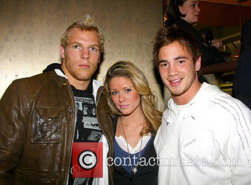 James Haskell, Felicia Field and Danny Cipriani The...