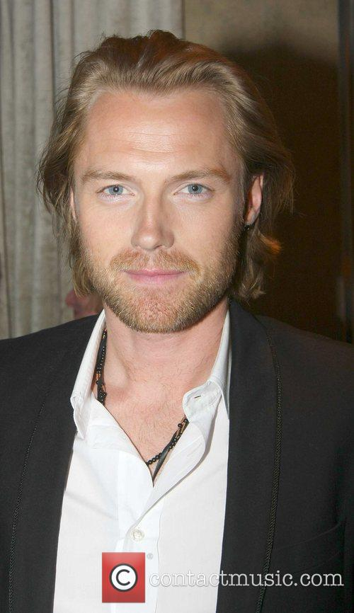 Ronan Keating The launch of the Maize Grill...