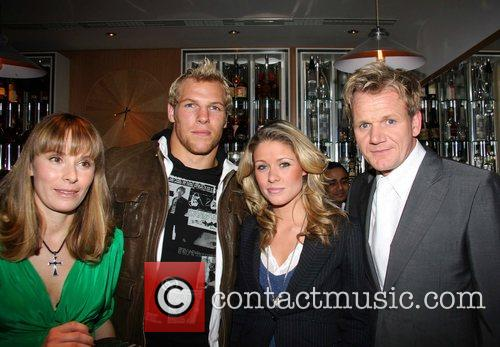 Tana Ramsay, James Haskell, Felicia Field and Gordon Ramsay 4