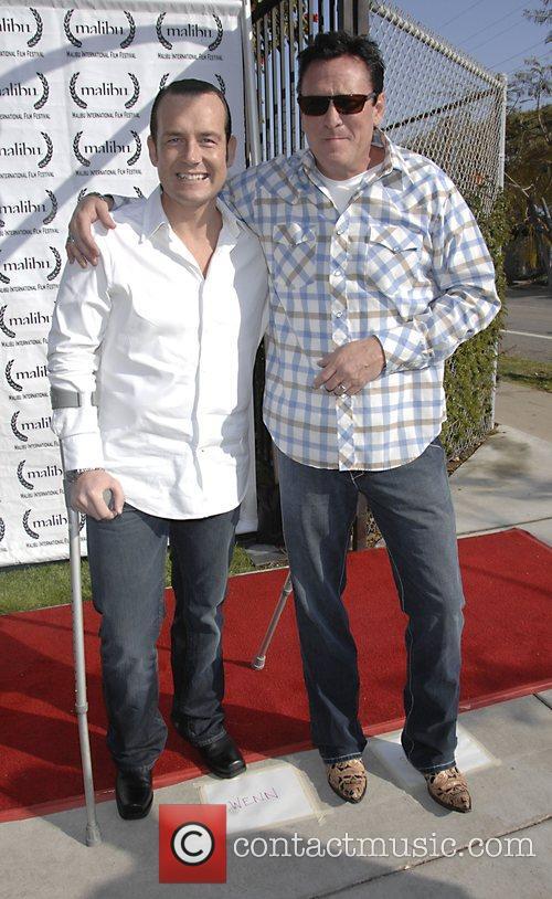 Mark Mahon and Michael Madsen Closing night film...