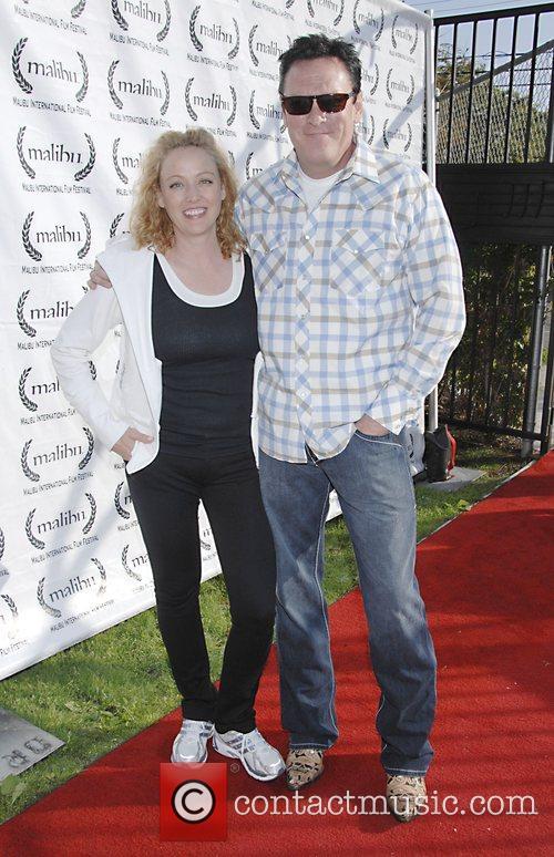 Virginia and Michael Madsen  Closing night film...