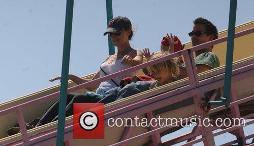 At the Malibu summer fair