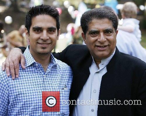 Deepak Chopra and son Gotham Chopra Celebrity moms...