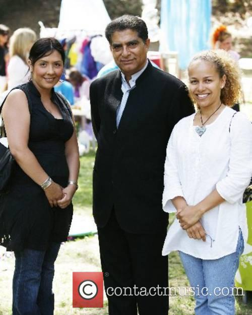 Deepak Chopra and Guests Celebrity moms and dads...