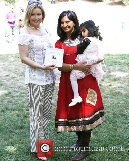 Mallika Chopra with daughter Leela and Guest Celebrity...