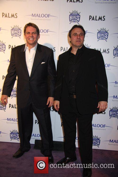 Joe Maloof and Gavin Maloof at 'Gavin Maloof's...