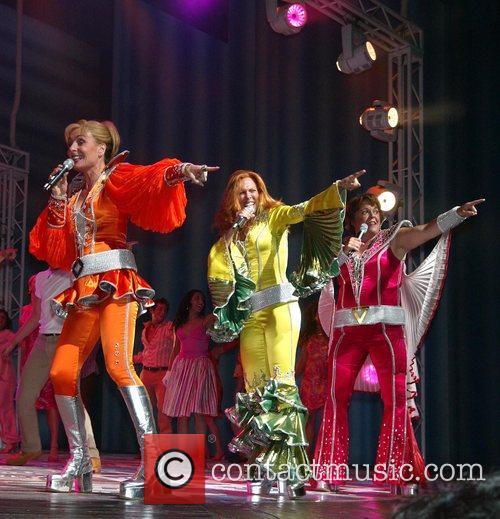 Judy McLane, Carolee Carmello and Gina Ferrall...