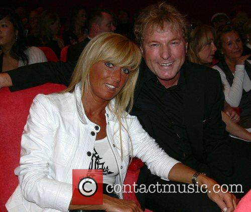 Bernhard Brink and wife Aftershow party of