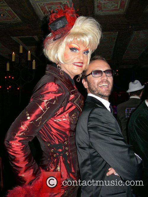 Olivia Jones and Hubertus Regout Aftershow party of...