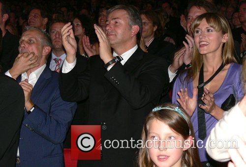 Joern Kubicki, Klaus Wowereit and Yvonne Hoelzel Aftershow...
