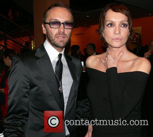 Hubertus Regout and Anouschka Renzi Aftershow party of...