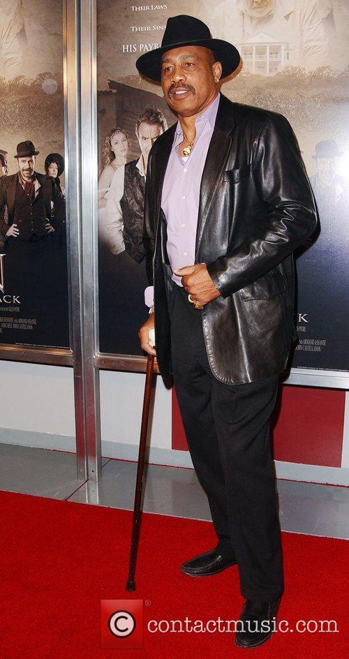 Ken Norton film premiere of 'The Man Who...