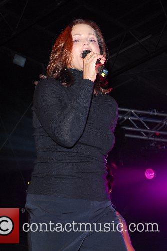 Belinda Carlisle performing at the Manchester Pride 2007...