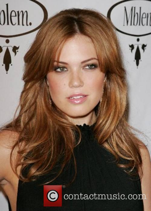 Mandy Moore debuts her fashion line Mblem's Fall...