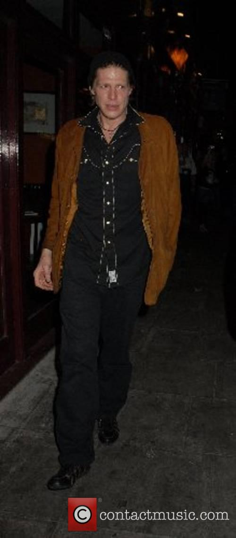 Pierce Brosnan and Chris Brosnan leaving Mango restaurant...