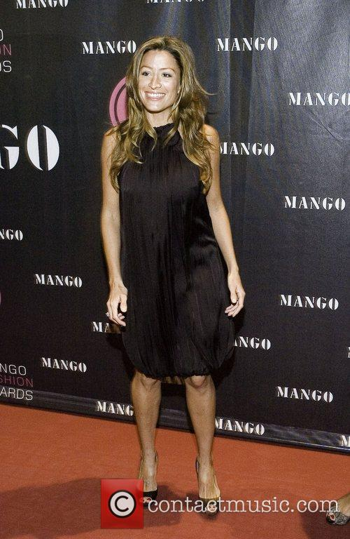 Rebecca Loos on the red carpet at the...