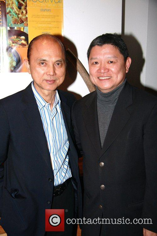 Jimmy Choo at Mango Tree restaurant
