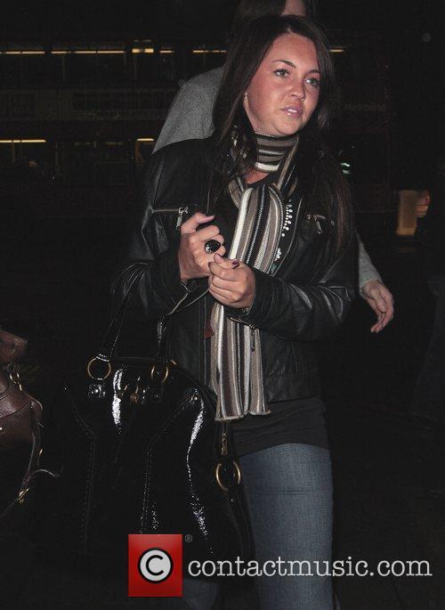 Lacey Turner leaving Mango Tree restaurant London, England