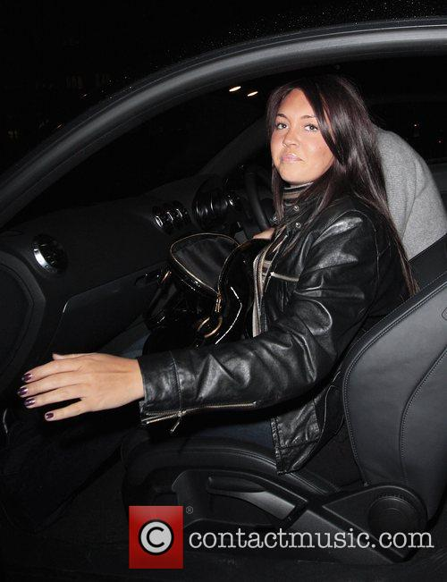 Lacey Turner leaving Mango Tree restaurant