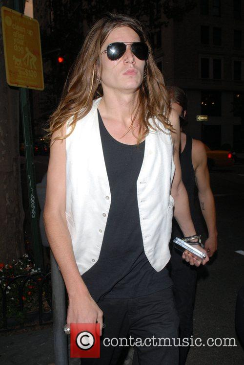 Jamie Burke out and about in Manhattan New...