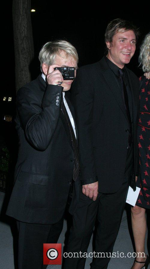 Nick Rhodes, SImon LeBon of Duran Duran out...