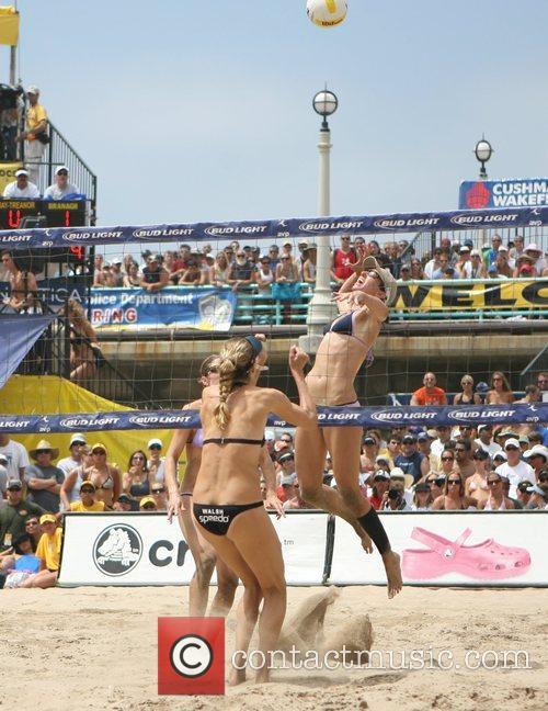 Nicole Branagh and Elaine Youngs 2007 Manhattan Beach...