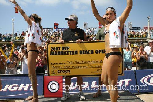 Misty May-Treanor 2007 Manhattan Beach Volleyball Tournament Long...