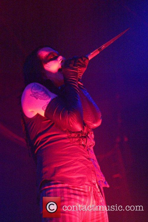 Marilyn Manson performing live at the Hordern Pavilion