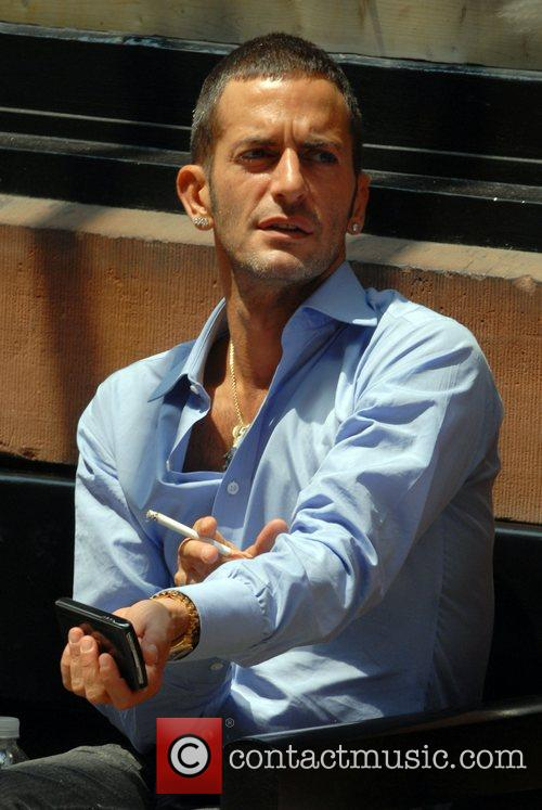 Marc Jacobs Leading fashion designer is spotted hanging...