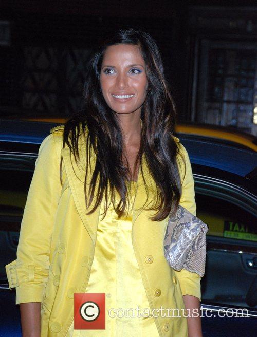 Padma Lakshmi Mercedes-Benz Fashion Week New York Spring...