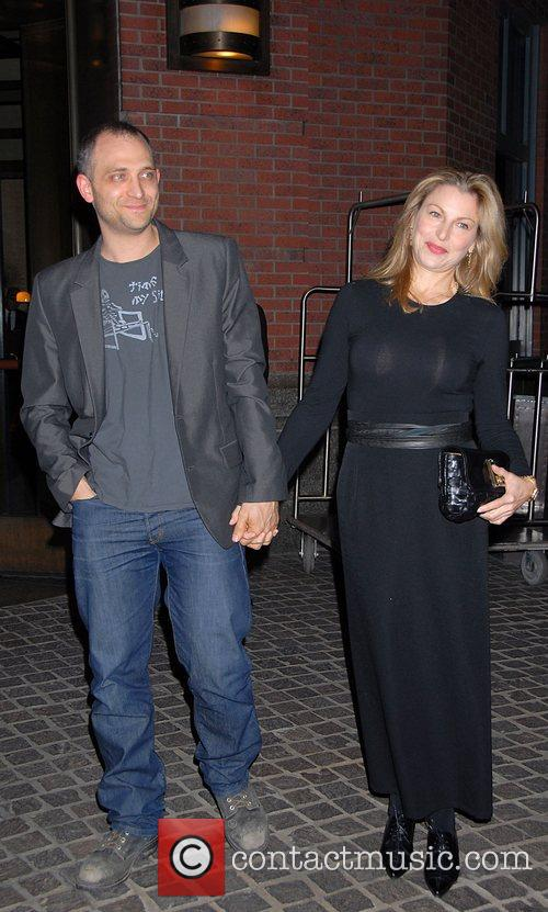 Tatum Oneal and Marc Jacobs