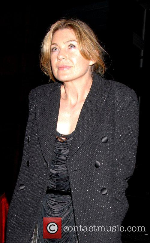 Ellen Pompeo Attends the after party for the...