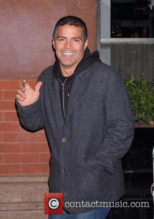 Esai Morales Attends the after party for the...