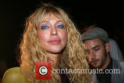 Courtney Love Mercedes-Benz Fashion Week New York Spring...