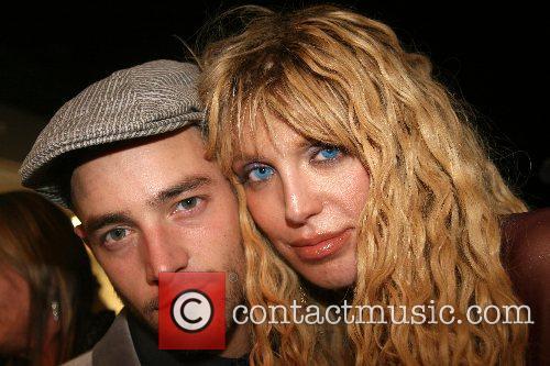Jason Preston and Courtney Love Mercedes-Benz Fashion Week...