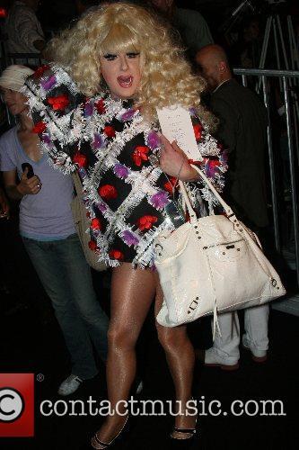 Lady Bunny Mercedes-Benz Fashion Week New York Spring...