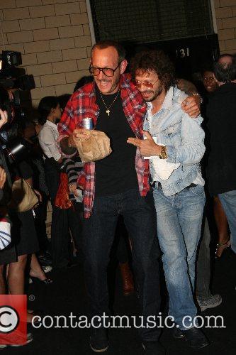 Terry Richardson and Olivier Zahm Mercedes-Benz Fashion Week...