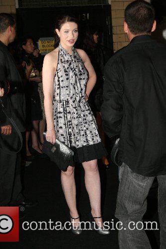 Michelle Trachtenberg Mercedes-Benz Fashion Week New York Spring...