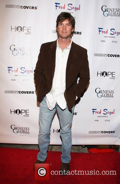 Peter Krause Mardi Gras Benefit at the Playboy...
