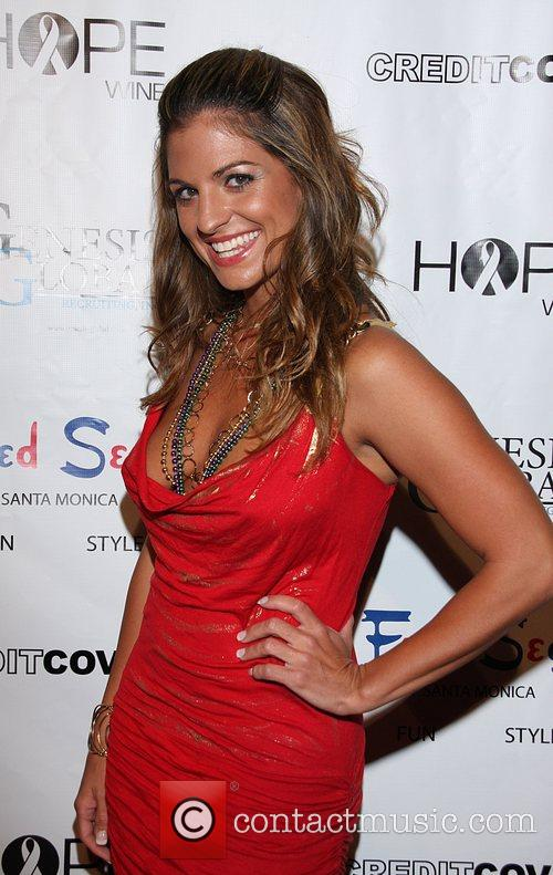 Bridgetta Tomarchio Mardi Gras Benefit at the Playboy...