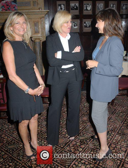 Maria Bartiromo and guests Hamptons Magazine Cover Party...