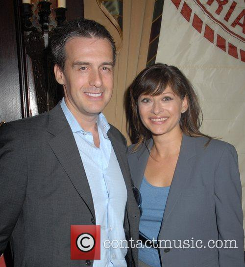 Maria Bartiromo and guest Hamptons Magazine Cover Party...