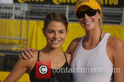 American actress, journalist, and television presenter Maria Menounos...