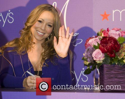 Mariah Carey perfume 'M' launch at Macy's, Glendale...