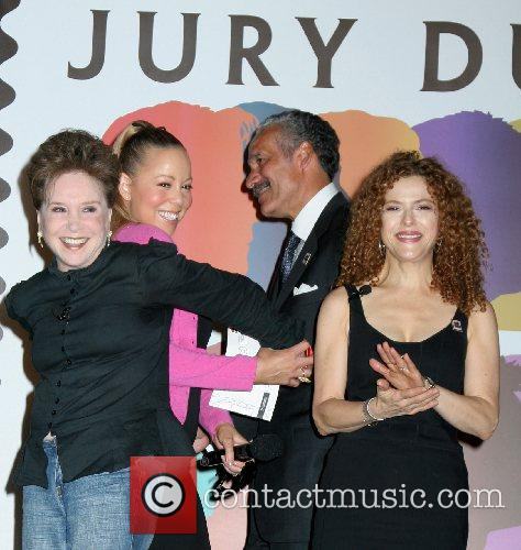 Bernadette Peters and Mariah Carey 2