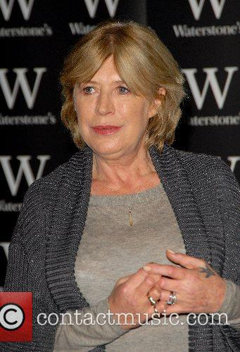 Marianne Faithfull signs copies of her new book...