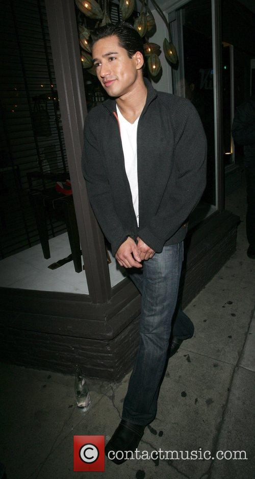 Mario Lopez seen leaving Villa Night club Los...