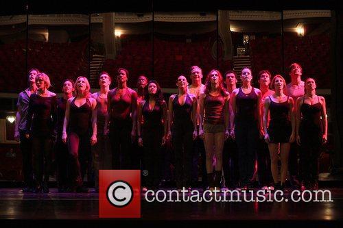 Chorus line cast Makes broadway debut as Zach...